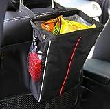 Rücksitz Autotasche,CAMTOA 9L Auto Mülleimer Rücksitztasche Rücksitz Organizer Multi-Tasche Aufbewahrungstasche,wasserdicht Tissue Utensilientasche für Flaschen Magazin Schirm Müll 23*31.5*7.5cm