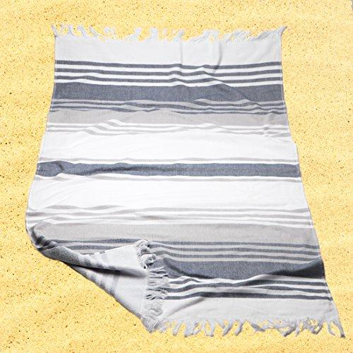 Burrito Blanco Pareo playa/Toalla pareo 181 Algodón