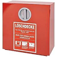 Wandbehälter für Löschdecke DIN EN 1869, HxBxT 300 x 300 x 125 mm rot - preisvergleich bei billige-tabletten.eu