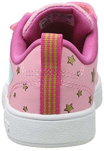 adidas Mädchen Vs Advantage Clean Hallenschuhe Mehrfarbig (Ltpink/ltpink/pink)