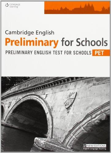 Practice Tests for Cambridge PET for Schools Teachers Book
