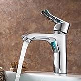 Sinken Wasserhahn Das Ganze Bad Wasserhahn Kupfer Einzigen Loch Kalt - Heiß Wasser Mischen Ventil Des Bad Wasserhahn