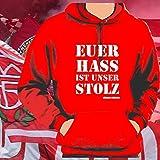 World of Football Bayern Kapuzenpulli Euer Hass ist unser Stolz - L