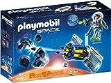 Playmobil- Space Giocattolo Satellite Distruggi Meteoriti, Multicolore, 9490