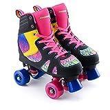 Osprey Spectrum High Top Quad Skate Roller Disco - Size 6