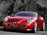 Alfa Romeo 8C Competizione Poster Print A3 420x297mm AL01A3