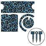 echo4745 Autocollant décoratif pour sèche-Cheveux,Autocollant de Protection réutilisable pour sèche-Cheveux Supersonic