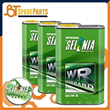3 litros de aceite de motor original Selenia Forward 0W30