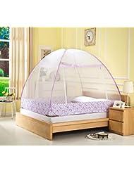 YWQ Mongol bolsa mosquiteros de alambre de acero simple libre de instalar mosquiteros , C , 120*195*145cm