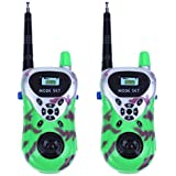 BESTVECH 2pcs Plastic Mini Wireless Walkie Talkie Kids Interactive Educational Toys