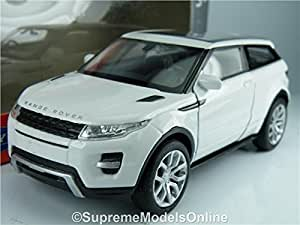 Range Rover Evoque White Car Model 1/36Th Size Opening Doors Type Pkd Y0675J