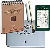 Faber-Castell Bleistift Castell 9000 (12er Design Reiseset)