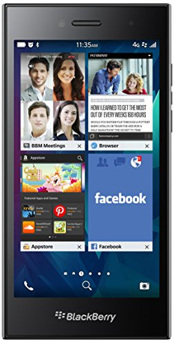 BlackBerry Leap 16 Go 4 g Gris – Smartphone Sim Unique, Blackberry os, Edge, GPRS, GSM, HSPa +, LTE, Micro-USB