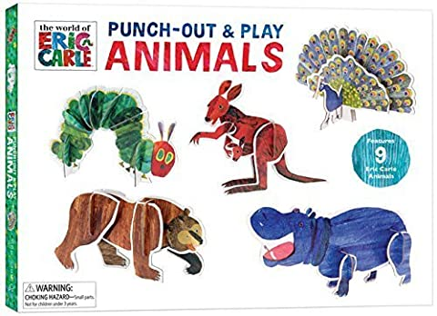 The World of Eric Carle Punch-Out & Play Animals by Eric Carle (2015-05-05)