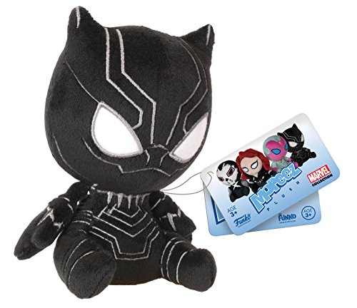 Funko - Peluche Marvel Civil War - Black Panther Mopeez 11cm - 0849803086220