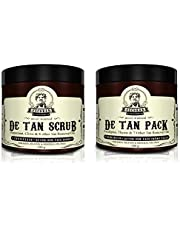 ESCOBAR De Tan Face Scrub and De Tan Cream Face Pack