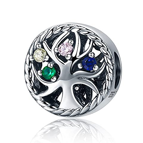 Fashion Natur Stil, Family Tree of Life Charms Perlen 925Sterling