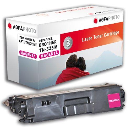 AgfaPhoto APTBTN325ME Toner für Brother HL4150, 3500 Seiten, magenta (3500 Druckkassette)