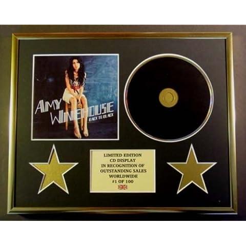 AMY WINEHOUSE/CD Display/Edicion Limitada/Certificato di autenticità/BACK TO BLACK