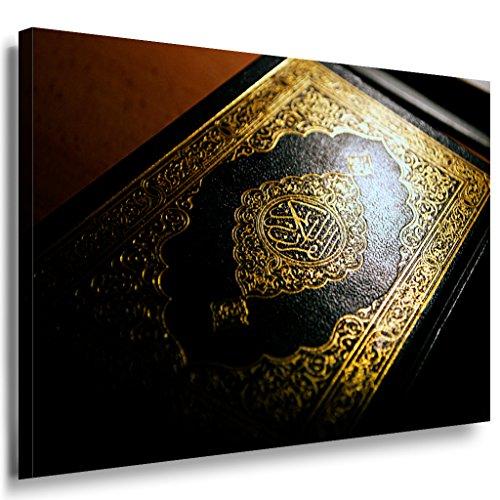 Koran Arabisch Islam Leinwandbild LaraArt Bilder Mehrfarbig Wandbild 100 x 70 cm