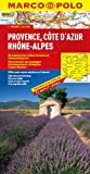 MARCO POLO Karte Provence, Cote d Azur, Phone-Alpes (MARCO POLO Karten 1:300.000) - Polo Marco