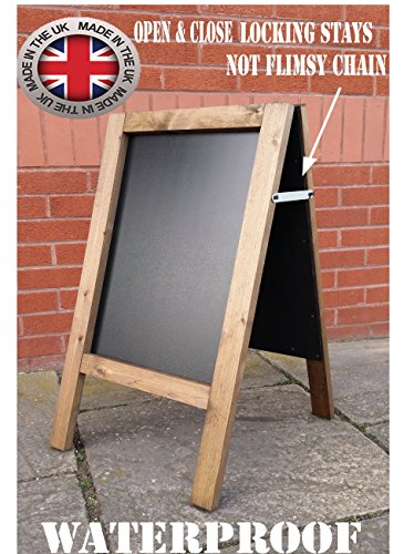 a-board-chalkboard-blackboard-pavement-board-dark-oak-for-use-with-traditional-chalk-and-or-liquid-c