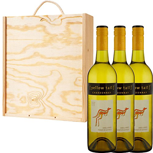 3-x-yellow-tail-chardonnay-australian-white-wine-in-pine-wood-gift-box-with-handcrafted-gifts2drink-