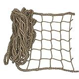 Universal Schutznetz nautrfarben - Breite 1,0m - 2,0m - Meterware (Breite: 2.0 Meter) Meterware (Preis per Meter)