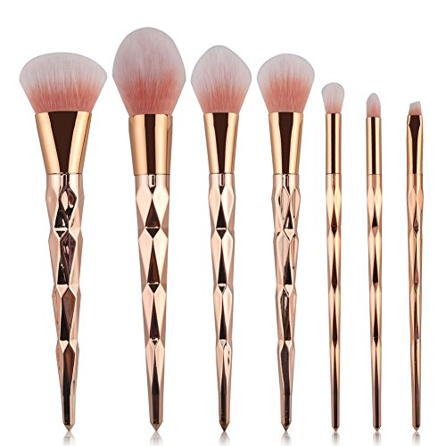 Pro Brosse pour le visage Blush Fond de teint Outil de maquillage