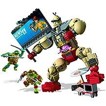Mega Bloks - Krang Malvado, Tortugas Ninja, Juego de construcción (Mattel ...