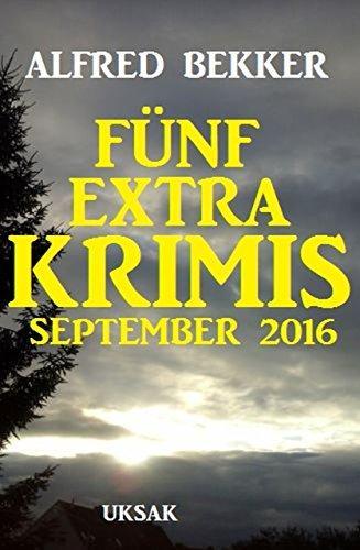 Fünf Extra Krimis September 2016