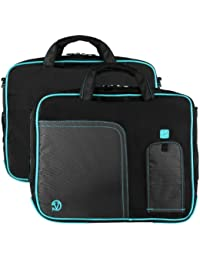 """Vangoddy Pindar PC portables et Tablettes tactiles Sacoche Nylon pour ordinateur portable pour 15,6"""" et 17.3"""" PC portables et Tablettes (Bleu)"""