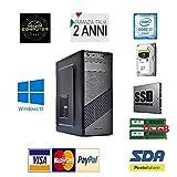 COMPUTER DESKTOP PC FISSO INTEL CORE I7-16 GB RAM-SSD 240-HDD 1TB WINDOWS 10 PRO
