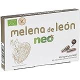 Neo Melena de León 60 Cápsulas | Mejora el Bienestar Digestivo a través de Hongos de Agricultura Ecológica | Certificado Hala