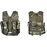 New Legion Adultos Tactical Carrier Paintball Chaleco, Camuflaje, M de XXL