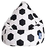 Sitting Point 28500 001 Sitzsack Fussball L