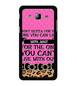 ifasho Designer Back Case Cover for Samsung Galaxy On7 G600Fy :: Samsung Galaxy Wide G600S :: Samsung Galaxy On 7 (2015) (Attendant Entertainment Tonight)