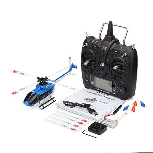 RONSHIN Spielzeug XK K124 RC Drone BNF Ohne Sender 6CH Brushless Motor 3D Hubschrauber System Kompatibel mit FUTABA S-FHSS RTF