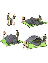 YFXOHAR 4 Person Portable Tent Outdoor Camping and Hiking Tent