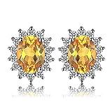 JewelryPalace Pendientes Princesa Diana William Kate Middleton Vintage...