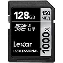 Schede Lexar 128GB Professional 1000x SDXC UHS-II (LSD128CRBEU1000)