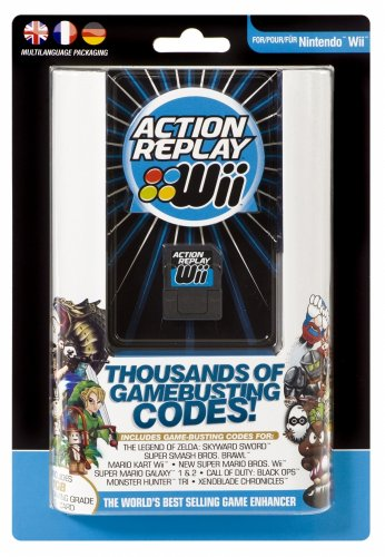 Wii Action Replay Schummelmodul US-Version Wii Action Replay