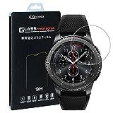 Qosea Samsung Gear S3 Classic / Samsung Gear S3 Frontier Schutzfolie 0.3 MM Bildschirmschutzfolie Panzerglas Glasfolie Hartglas 9H