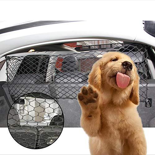 bozitian Hunde Tier Auto Türschutzgitter Treppenschutzgitter Hundeabsperrgitter Treppenschutz Portable Hund Safe Guard, Pet Sicherheit Tor Mesh Pet Katze Hund Isolierte Zäune Gaze Treppenschutzgitter