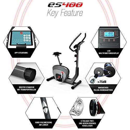 Sportstech ES400 Heimtrainer – APP Steuerung - 6