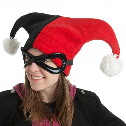 (DC Comics Batman Harley Quinn Kostüm Cosplay Hut)