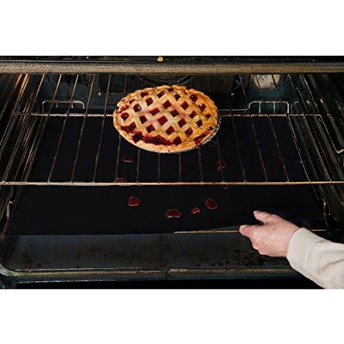 evelots-3-per-forno-antiaderente-mantenere-pulito-forni-a-gas-elettrici-tostapane-nero