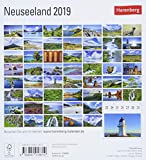 Neuseeland - Kalender 2019: Sehnsuchtskalender, 53 Postkarten