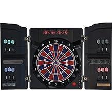 Elektronische Dartscheibe Dartona CB40 Cabinett - Turnierscheibe mit 27 Spielen und über 150 Varianten