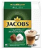 JACOBS Latte Macchiato Kaffee, Nescafé Dolce Gusto kompatible Kapseln (R) * 3er Pack (3 x 7 Getränke)